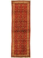"""Authentic  Wool RNR-4228 3' 4"""" x 10' 1"""" Persian Malayer Runner"""