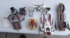 Lego Star Wars 4 partial sets Skiff Wampa Carbon Freezing Sarlaac