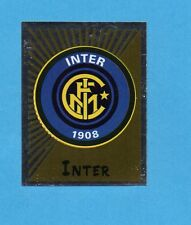 PANINI CALCIATORI 2002-03- Figurina n.151- SCUDETTO/BADGE - INTER -NEW