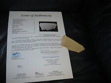 """""""PISTOL PETE"""" MARAVICH Autographed Cut JSA Certified"""