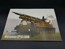 Paper Model Kit 2P16 LUNA Rocket Launcher Answer / Angraf