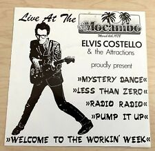 "ELVIS COSTELLO Live At The El Mocambo (1978) 7"" EP Spain ICM Live RARE"
