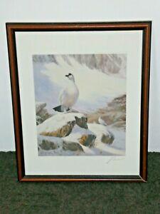 Snow Birds by John Trickett English Painter L/E 227/850 Signed Framed Print