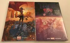 THOR VOL 1 & 2 HARDCOVERS BY JASON AARON & RUSSELL DAUTERMAN JANE FOSTER AS THOR