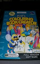 Kid's Colouring Book Creator PC GAME - FREE POST