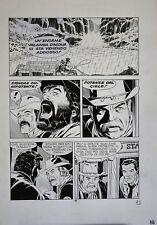 """Tavola Originale di Fabio Civitelli, Tex n. 475 """"il Presagio"""" (1997) Pag.92"""