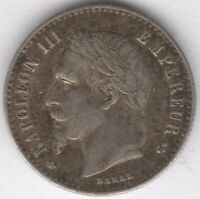 1864 A France Silver 50 Centimes | European Coins | Pennies2Pounds