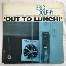 ERIC DOLPHY Out To Lunch! BLUE NOTE BLP 4163 New York Mono Ear jazz lp