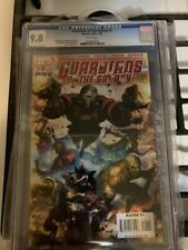 GUARDIANS OF THE GALAXY #1 1ST APP CGC 9.8 WHITE PAGES First Print 2008