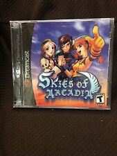 Skies of Arcadia (Sega Dreamcast, 2000) Brand New; Y-Fold Factory Sealed!!