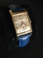 VINTAGE LONGINES MECHANICAL 10k GOLD FILLED WATCH **VERY RARE** **COLLECTABLE**