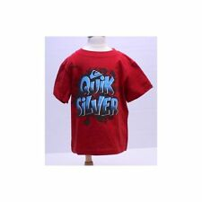 QUIK SILVER NWT Red Graphic T-shirt 100% Cotton Sz 2/2T