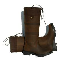 Rhinegold Brooklyn Child Leather Country Walking Yard Boots