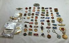 Soviet Union USSR Military Pins Badges Key chains  Lot of 69 Nice