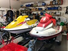 Two with trailer: 1997 and 1996 sea-doo jet skis personal watercraft Pwc