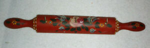 Wooden Hand Painted Key Rack Key Holder Wall Hanging Country Chic