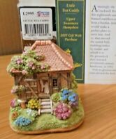 LILLIPUT LANE - L2995 LITTLE TEA CADDY - UPPER SWANMORE, HAMPSHIRE + BOX & DEEDS