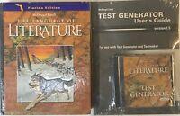 6th Grade 6 Literature Langauge Arts Text + Tests CD Homeschool Curriculum