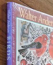 BIRDS by Mississippi artist WALTER ANDERSON,1990, 1st ed. NEW, SEALED! , HC DJ