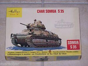 HELLER  1/35ème CHAR SOMUA S 35
