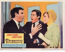 """Jerry Lewis Mary Ann Mobley 3 On A Couch Original 11x14"""" Lobby Card LC480"""
