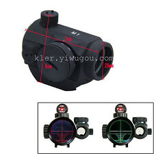 Collimator Reflex Red/Green Rifle Dot Sight Scope Hunting Holographic Picatinny