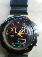 "orologio swatch ACQUACHRONO modello ""ROUGHNECK""SBM 109 anno 1998 USATO RARISSIMO"