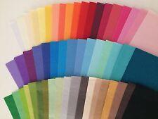 10 Bögen exkl. Seidenpapier zum Basteln/Dekorieren/Verpacken - in vielen Farben