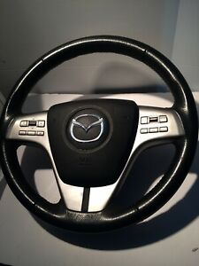 MAZDA 2009 6 MK2 MULTI FUNCTION STEERING AND A/B