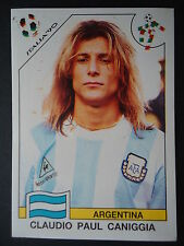Panini 225 Claudio Paul Caniggia Argentina WM 90 World Cup Story
