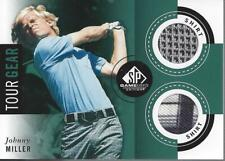 2014 SP Game Used Tour Gear #TGJM Johnny Miller B - NM-MT