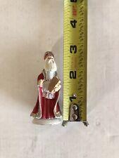 Vintage Duncan Royale History of Santa Miniature Figure St Nicholas 2nd/500 1983