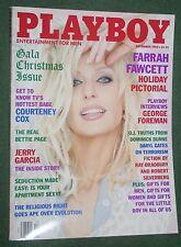 Playboy Dec 1995 POM Samantha Torres Farrah Fawcett George Foreman interview