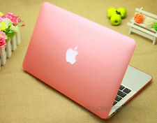 Matte Rubber Coated SeeThru Hard Shell Snap On Case for Macbook Pro 13'' Retina