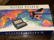 Davis Weather Wizard III - Professional Home Weather Station - NEW IN BOX