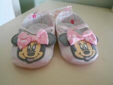 d58950c88fe Disney Minnie Mouse Resbalón En Satén Zapatos De Cuna Rosa Infantil 0-6  MNTHS   Nuevo Con Etiquetas  . Bs. 103.58