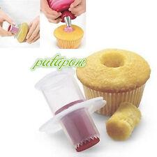 Kitchen Cupcake Cake Corer Plunger Cutter Pastry Decorating Divider Filler Model