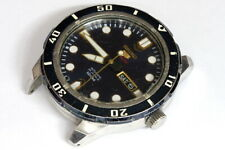 Seiko 24 jewels 4R36-04J0 King Size 46mm watch for parts/hobby/watchmaker