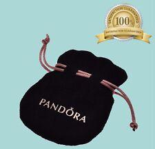 ORIGINALE Pandora Nuovo di Zecca Soft Velluto Nero Gioielli Regalo Sacchetto! vendita!