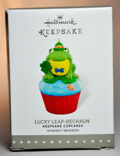 Hallmark: Lucky Leap-Rechaun - Keepsake Cupcakes - Series 8th 2016 Ornament