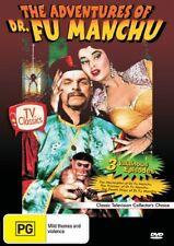 ADVENTURES OF DR FU MANCHU - 3 VILLIANOUS EPISODES - DVD - NEW -