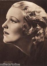 #CINEMA- ATTRICI: ASSIA NORIS- foto Luxardo- ediz. Rizzoli 1941