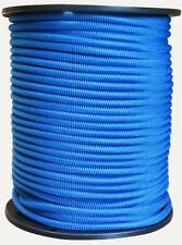 3mm BLUE SHOCK CORD/BUNGEE CORD  - Camping, boating, caravaning, ute canopy