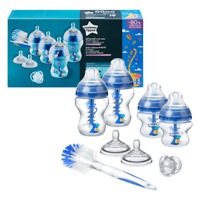 Tommee Tippee Advanced Anti Colic Baby Bottle Newborn Starter Set Blue