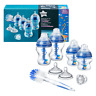 Tommee Tippee Advanced Anti Colic Baby Bottle Newborn Starter Set Blue