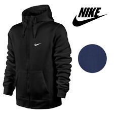 Nike Men's Zip Up Hoodie Jacket With Embroidered Swoosh And Pockets