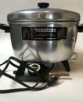 Toastess Vintage Electric Pot deep Fryer Immersable