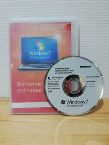 licence Windows 7 Pro  + CD + Sticker