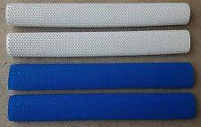 4x OCTOPUS Cricket Bat Grip - 2x BLUE, 2x WHITE - Oz Stock