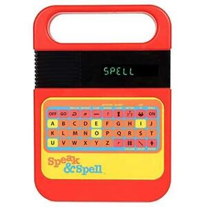 Original speak and spell - childs electronic fun learning - make spelling fun